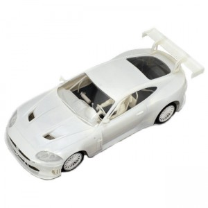 Scaleauto Jaguar XKR RSR GT2 White Kit - 1:24th Scale SC-7019