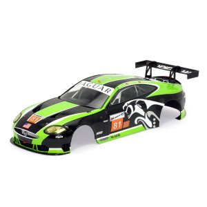 Scaleauto 1/24 Jaguar XKR RSR No.81 Le Mans 2010 Body