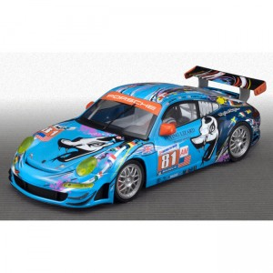 Scaleauto Porsche 997 Le Mans 2011 No.81 Flying Lizard Team 1:24th scale SC-7039