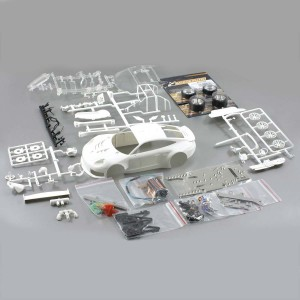 Scaleauto Porsche 911 GT3 RSR White Kit - 1:24th Scale