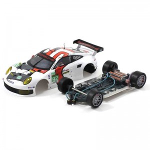 Scaleauto Porsche 991 RSR No.92 Le Mans 2013 - 1:24th Scale Home Series