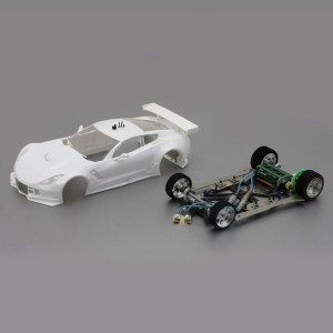 Scaleauto 1/24 Chevrolet Corvette C7R White Racing Kit