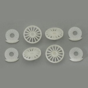 Scaleauto BBS GT inserts 21mm & Discs Brakes SC-7615