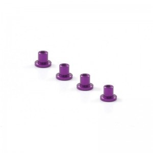 Scaleauto Suspension Mounts 3mm Aluminium Purple