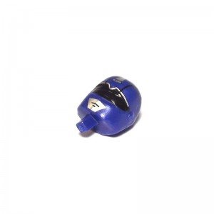 Scalextric Power Rangers Motor Cycle Driver Head Blue