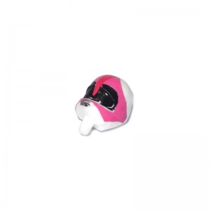 Scalextric Power Rangers Motor Cycle Passenger Head White/Pink