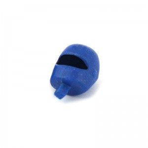 Scalextric Motorcycle Driver Head Blue