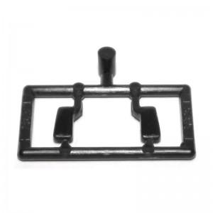 Scalextric Mirrors Type 2 Black / chrome