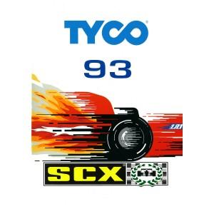 SCX Catalogue 1993