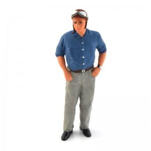 Figurenmanufaktur Juan Manuel Fangio Figure