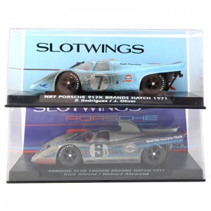 Slotwings Porsche 917K 1000Km Brands Hatch 1971 Gulf/Martini Set 2