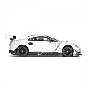 Slot.it Nissan GT-R Nismo GT3 White Kit