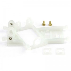 Slot.it Anglewinder Motor Mount 1.0mm Offset EVO6 Hard
