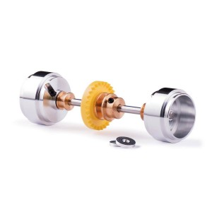 Slot.it Starter Kit Inline 28t 17.3x9.75mm Wheels