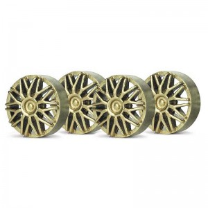 Slot.it Wheel Inserts BBS Gold SIPA03G