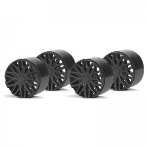 Slot.it Wheel Inserts BBS Black SIPA13B