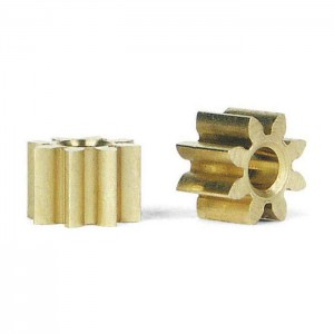 Slot.it Inline Brass Pinion 8 Teeth 5.5mm SIPI08