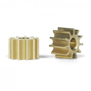 Slot.it Inline Brass Pinion 10 Teeth 5.5mm SIPI10