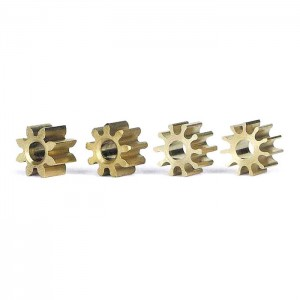 Slot.it Inline Brass Pinion Mix Pack 5.5mm SIPIMX
