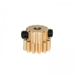 Sloting Plus Brass Removable Pinion 10t 6.5mm