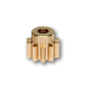 Sloting Plus Brass Pinion Pression 10t 6.5mm SP089990