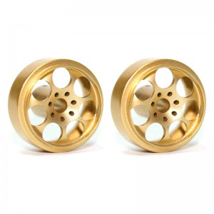 Sloting Plus Artic Gold Wheels 15.9x8.5mm