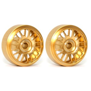 Sloting Plus BBS Gold Wheels 16.5x9mm SLPL-490165