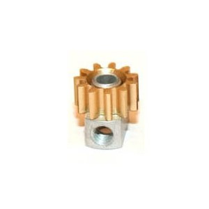 Sloting Plus Brass 11t Pinion Removable 6.5mm SP085111