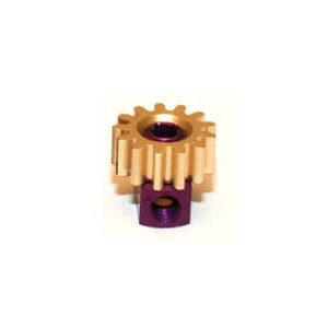 Sloting Plus Brass 13t Pinion Removable 7.5mm SP085713