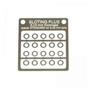 Sloting Plus Spacer 0.10mm Standard 3/32