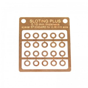 Sloting Plus Spacer 0.10mm Standard Bronze 3/32