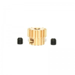 Sloting Plus Brass Pinion Removable 14t 7.5mm