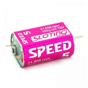 Sloting Plus Motor Speed-5 21.000rpm