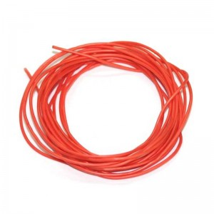 Sloting Plus Silicone Cable Oxygen Free Orange Ø 1,0 mm