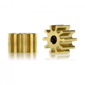 Le Mans Miniatures Brass Pinion 10 Teeth 1.5mm