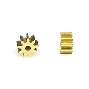 SRP Pinion Brass 9T 5.5x3.5mm f.1.5mm SR1442D55A2A