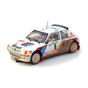SRC Peugeot 205 T16 Evo1 No.6 Portugal Rally 1985