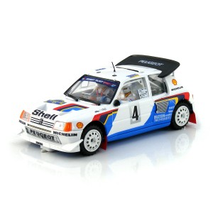 SRC Peugeot 205 T16 No.4 Rally Sweden 1986 Winner
