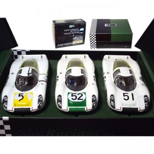 SRC Porsche 907L Daytona 24hrs 1968 3 Car Set SRC-900111