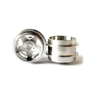Staffs Aluminium Wheels Silver 15.8x10mm