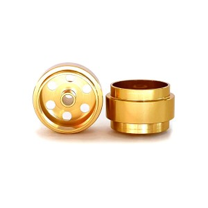 Staffs Aluminium Wheels Gold 15.8x8.5mm
