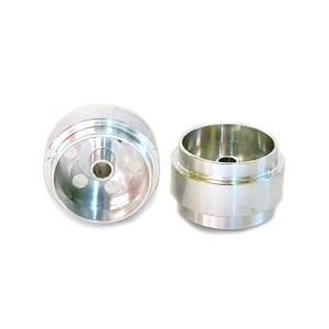 Staffs Aluminium Wheels Bullet-Hole Silver 15.8x10mm