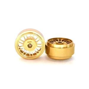 Staffs Aluminium Wheels BBS Gold 16.9x10mm