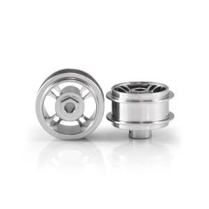 Staffs Aluminium Wheels 4-Spoke Silver 15.8x8.5mm
