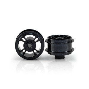 Staffs Aluminium Wheels 4-Spoke Black 15.8x8.5mm