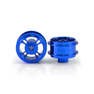 Staffs Aluminium Wheels 4-Spoke Blue 15.8x8.5mm