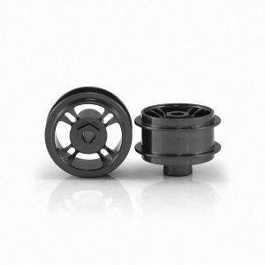Staffs Aluminium Wheels 4-Spoke Grey 15.8x8.5mm