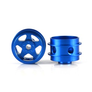 Staffs Aluminium Air Wheels 5-Spoke Blue 15.8x10mm