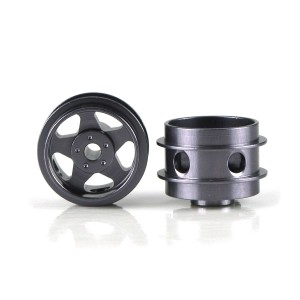 Staffs Aluminium Air Wheels 5-Spoke Grey 15.8x10mm