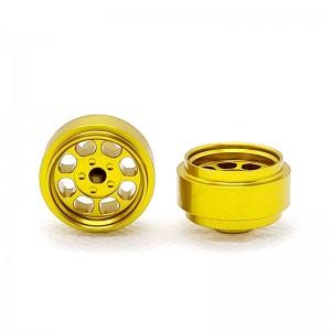 Staffs Aluminium Wheels Classic Gold 15.8x8.5mm